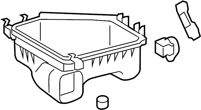 Toyota Corolla Air Filter and Housing Assembly. 2.4 LITER