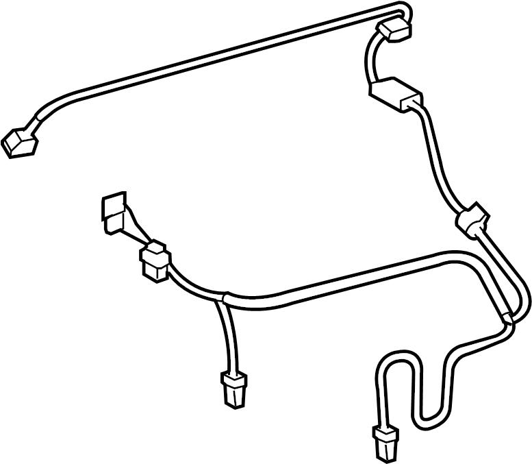 Toyota RAV4 Hvac system wiring harness. Auto ac. W/climate