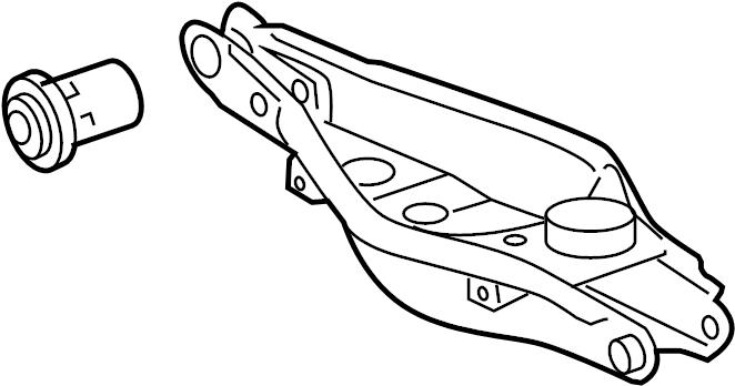 Toyota RAV4 Suspension Control Arm. Left, Canada, Built