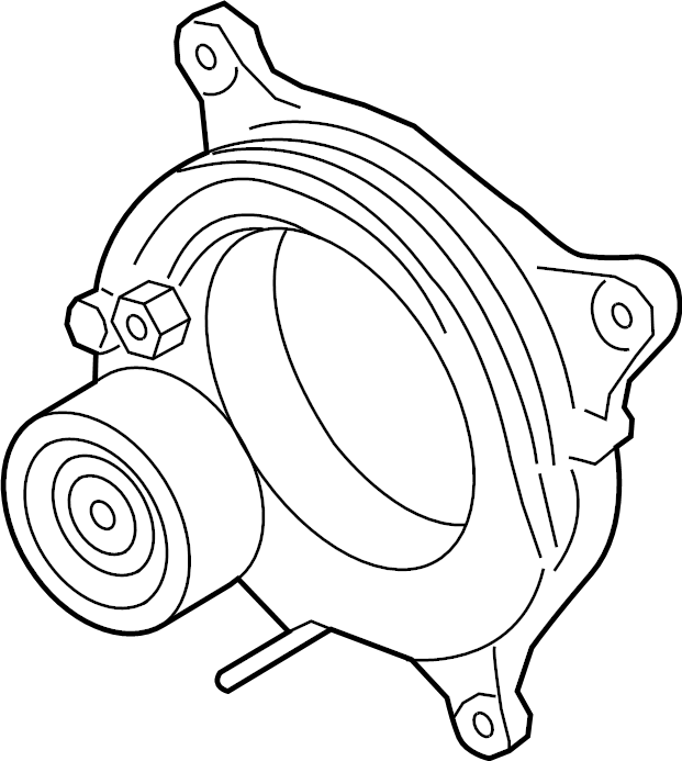 Toyota GR Supra Accessory Drive Belt Tensioner Assembly