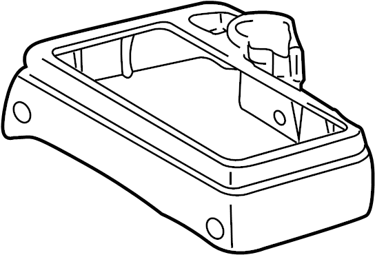 Toyota Tacoma Center Console. 2001-04, manual trans with 2