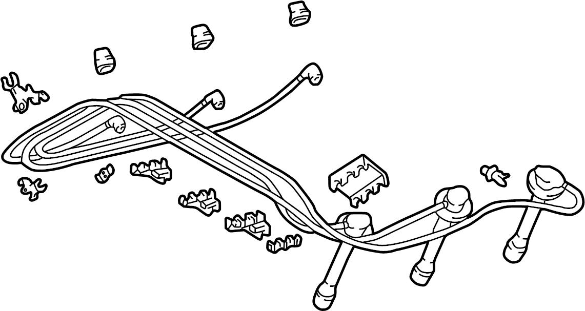 Toyota Tacoma Spark Plug Wire Set. Cylinder, LITER