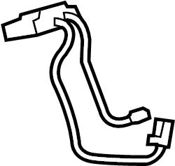 Toyota Tacoma Steering Wheel Wiring Harness. URETHANE