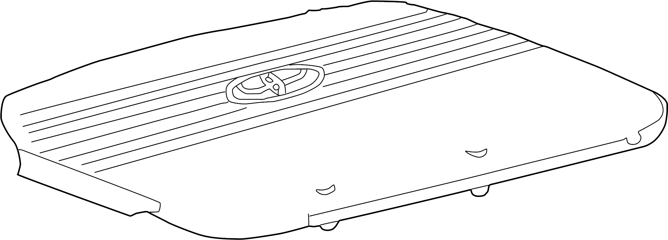 Toyota Sienna Engine Cover. 3.0 & 3.3 LITER. 3.0 LITER