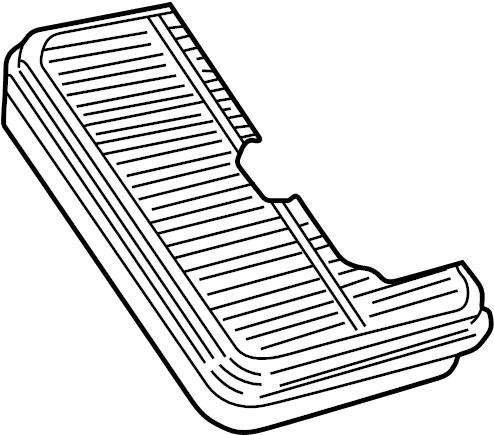 Toyota Corolla Air Filter. Engine, LITER, DUAL