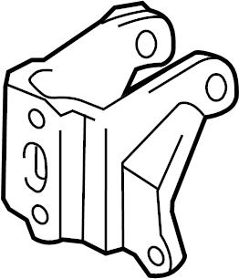Toyota Celica Engine Mount Bracket (Front, Rear, Upper