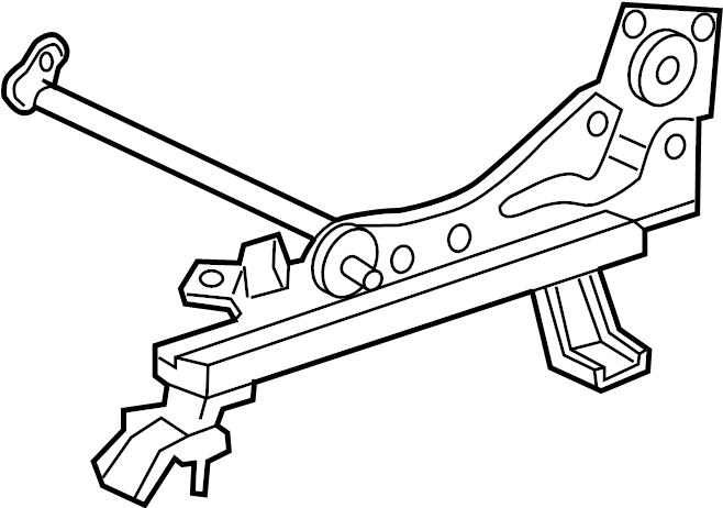 Toyota Avalon Seat Adjuster. SEATS, Bench, MANUAL