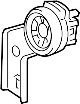 Toyota Avalon Speaker. Upper, JBL. Upper, w/JBL audio
