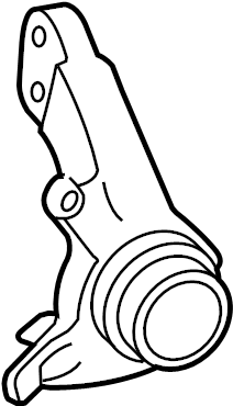 Toyota Camry Steering Knuckle. Left, Front, SUSPENSION