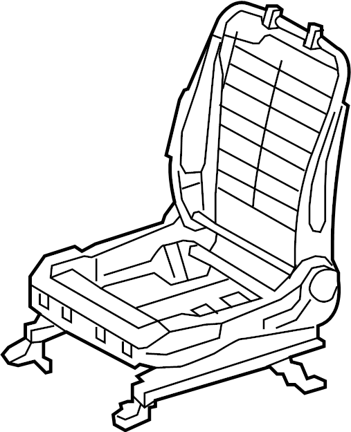 Toyota Camry Seat Frame. MANUAL SEAT, US built