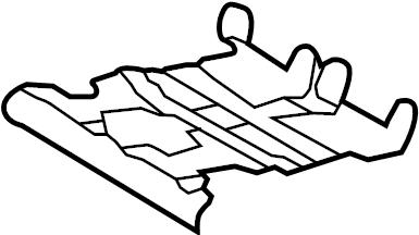 Toyota Avalon Seat Cushion Spring. MANUAL SEAT. POWER SEAT