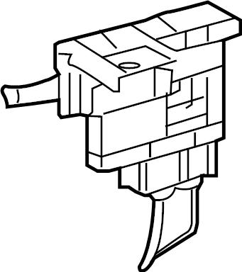 Toyota Avalon Block assembly, fusible. Fuse holder