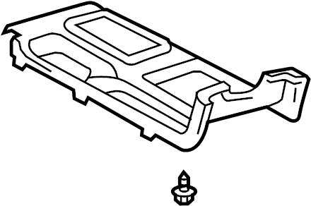 Toyota Solara Automatic Transmission Shift Cover Plate