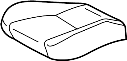 Toyota Solara Seat Cover. MANUAL, Ivory, DRIVER
