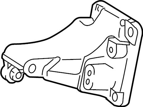 Toyota Corolla Bracket, alternator. Engine Mount Bracket