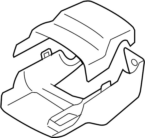 Toyota Yaris Cover. Column. Steering. Set,. Shroud. A trim