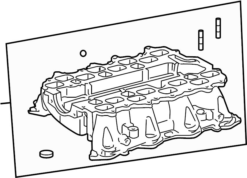 Toyota Sequoia Engine Intake Manifold. Upper, Lower, LITER