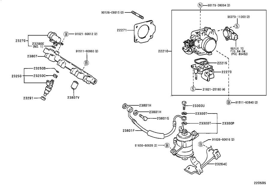 Toyota Tercel Fuel Injection Idle Air Control Valve
