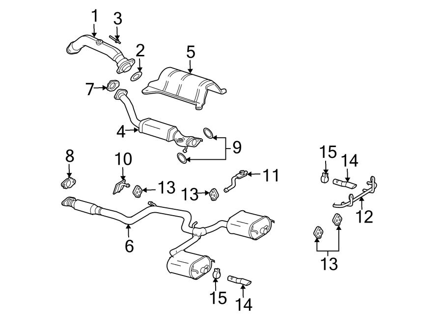 Chevrolet Impala Catalytic Converter. EXHAUST, LITER