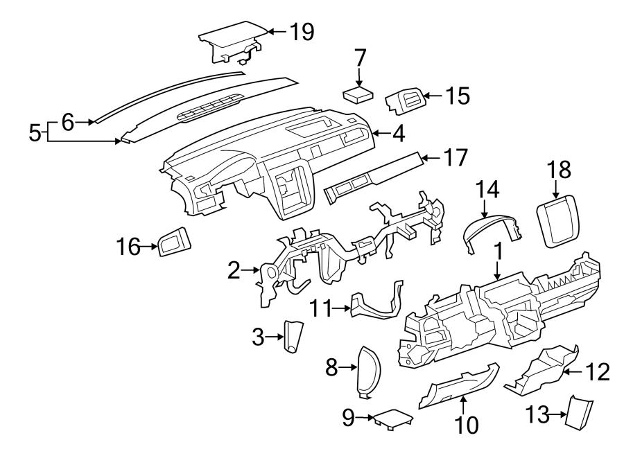 Chevrolet Silverado 2500 HD Defroster. Vent. Nozzle
