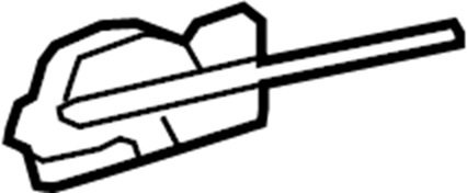Pontiac Torrent Lock. Actuator. Latch. Cable. Liftgate