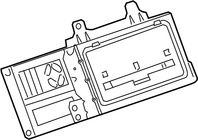 Buick Verano Radio Control Unit. 2011-2013, w/navigation