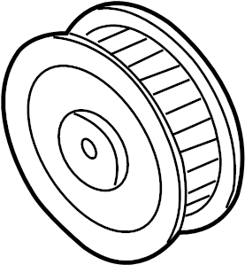 Buick Park Avenue Accessory Drive Belt Idler Pulley