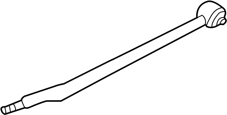 Buick Lesabre Link. Arm. Lateral. (Rear, Lower). WDamping