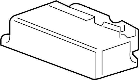 GMC Terrain Air Bag Control Module. Module. Air Bag