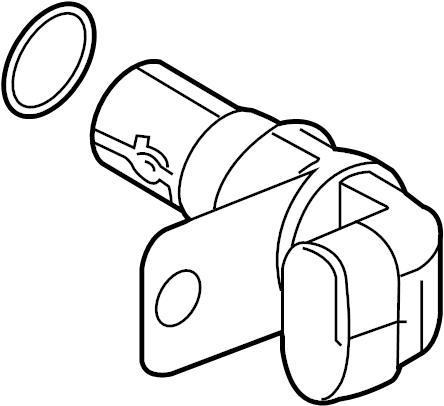 GMC Canyon Crankshaft position sensor. Crnkshft sensor