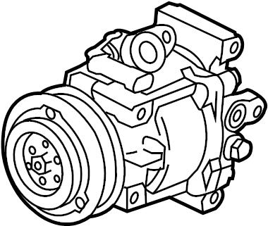2014 Chevrolet A/c compressor. Repair, make, conditioning