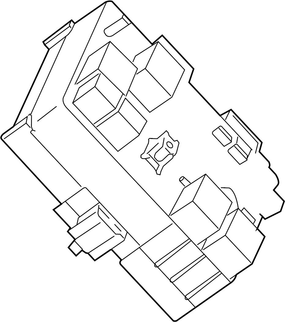 Pontiac Torrent Junction Block. PANEL, INSTRUMENT, Heated