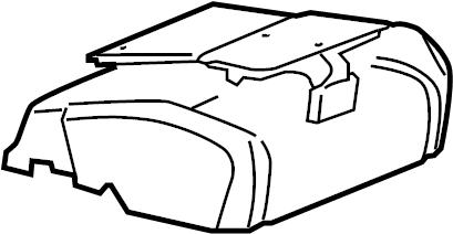 Pontiac Torrent Air Bag Passenger Presence Module. SEAT
