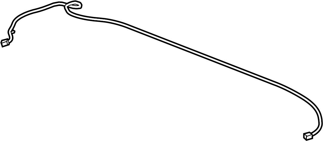 GMC Terrain Radio Antenna Mast. 180mm. All. SRX; w/o