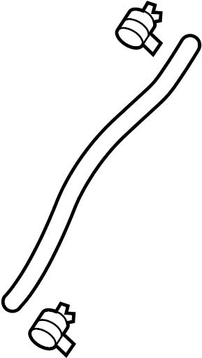 GMC Terrain Hose. P/s pressure hose. Reservoir hose. 3.0