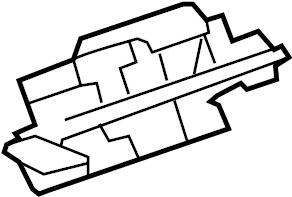 Pontiac Torrent Lock. Actuator. Latch. Gate, Lift, Power