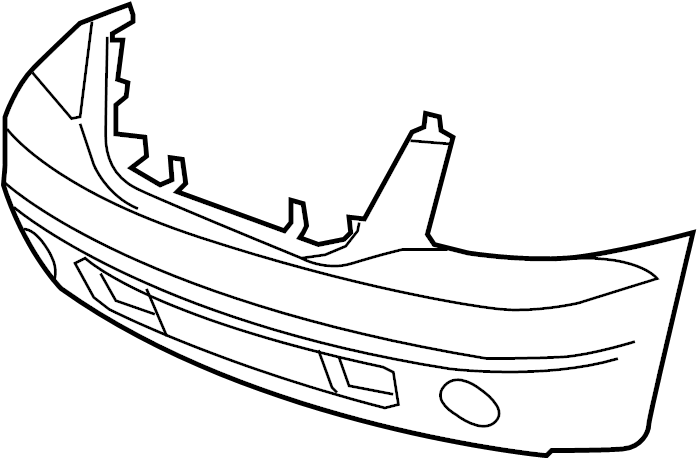 GMC Yukon Bumper Cover (Front, Upper, Lower). GMC. GMC