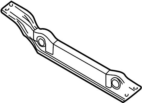 2000 Chevrolet Suspension Subframe Crossmember (Rear