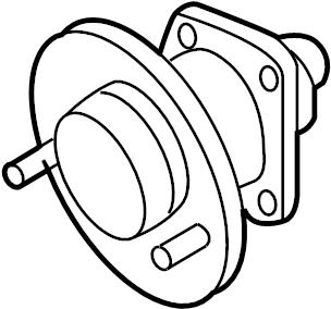GMC Terrain Wheel Bearing and Hub Assembly (Rear