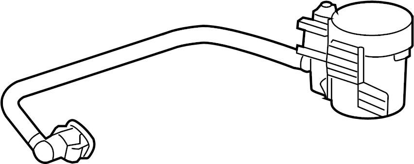 Buick Enclave Valve. SOLENOID. LITER, EMISSION, System