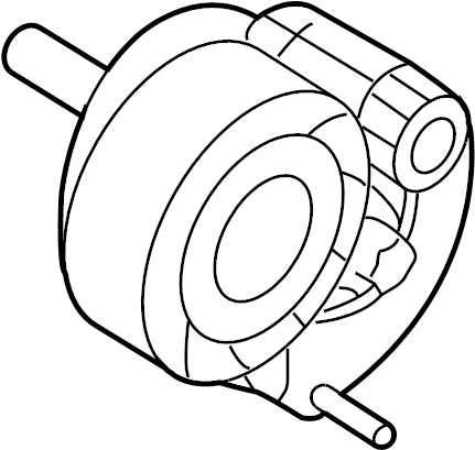 Chevrolet Cruze Accessory Drive Belt Tensioner Assembly