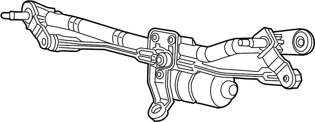 GMC C3500 Windshield Wiper Motor. Windshield Wiper Motor