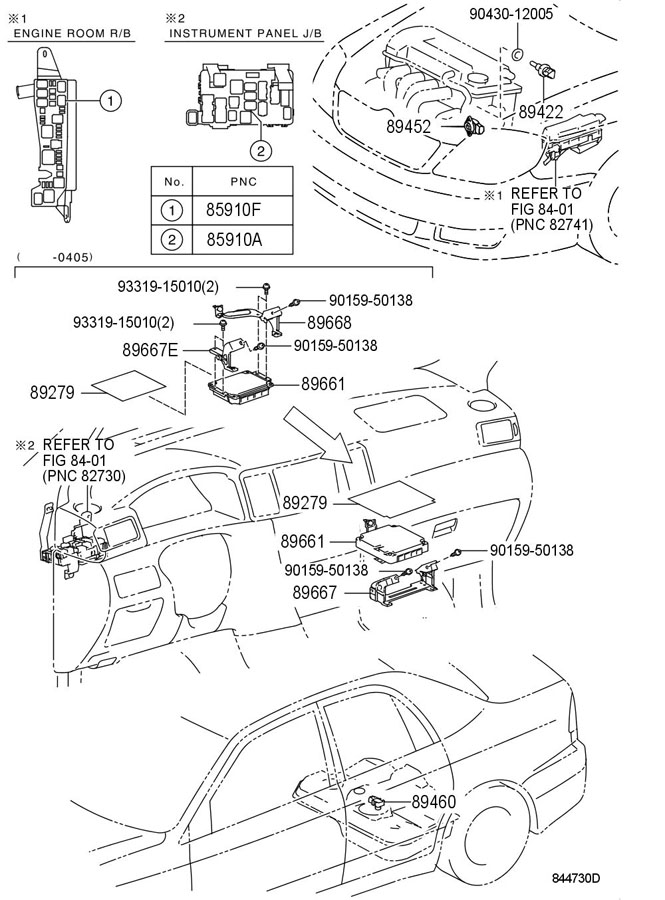 TOYOTA ELECTRONIC FUEL INJECTION SYSTEM