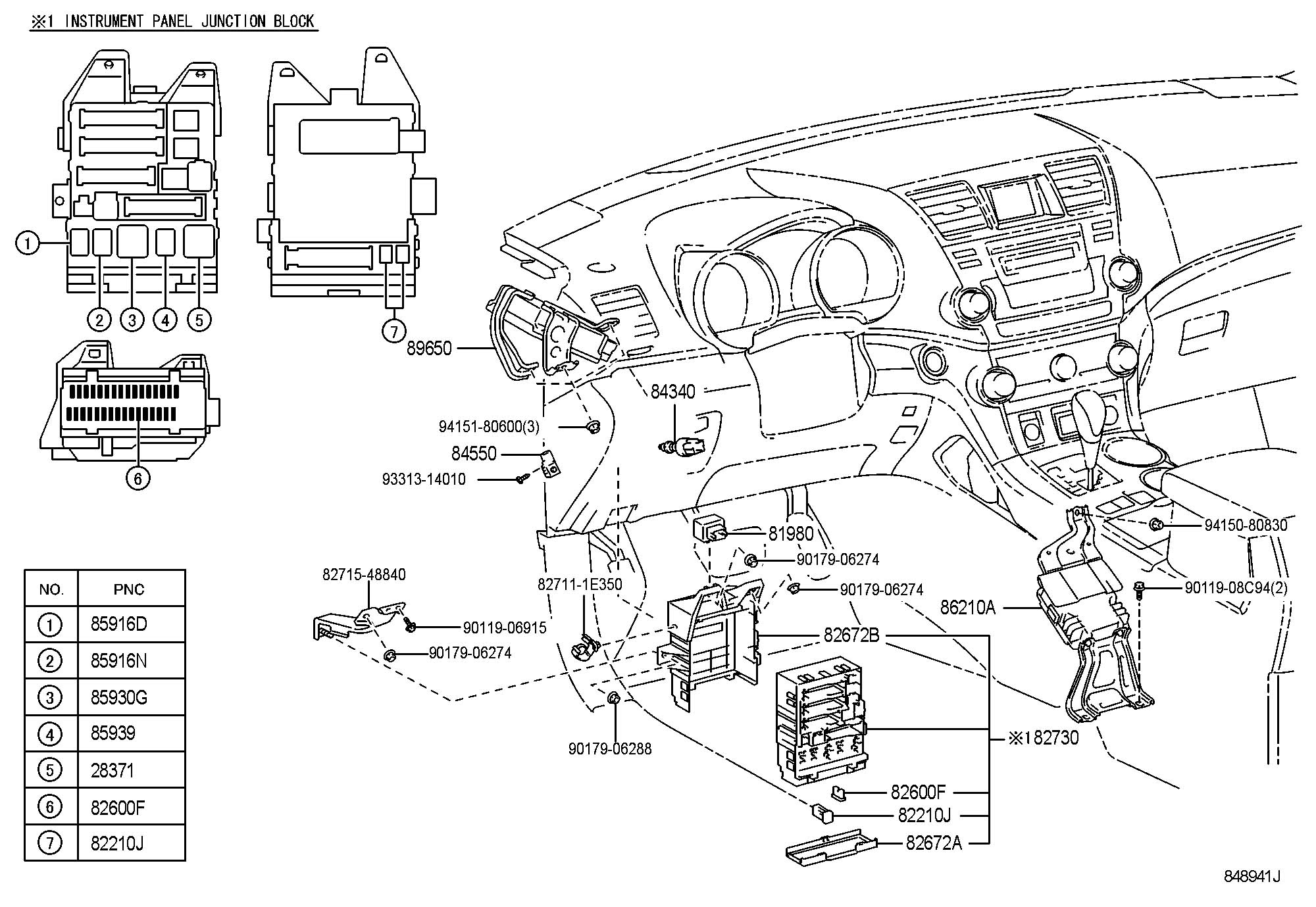 Toyota Fuse Box Diagram Camry. Toyota. Auto Wiring Diagram