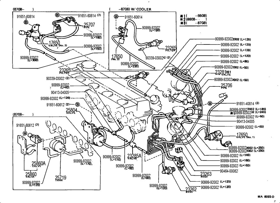 parts diagram also 1987 toyota pickup electrical wiring diagram