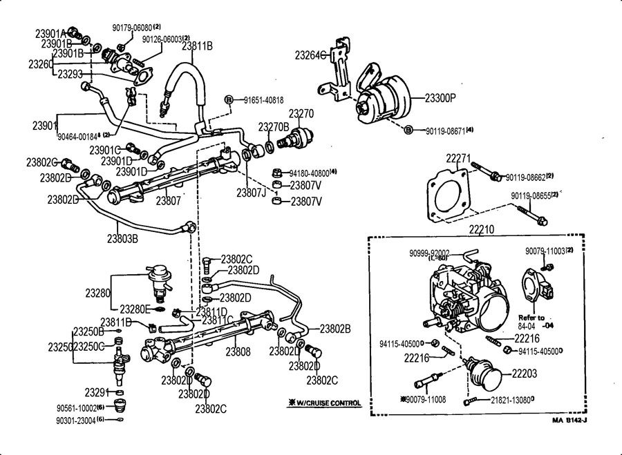 Toyota T100 Wiring Harness