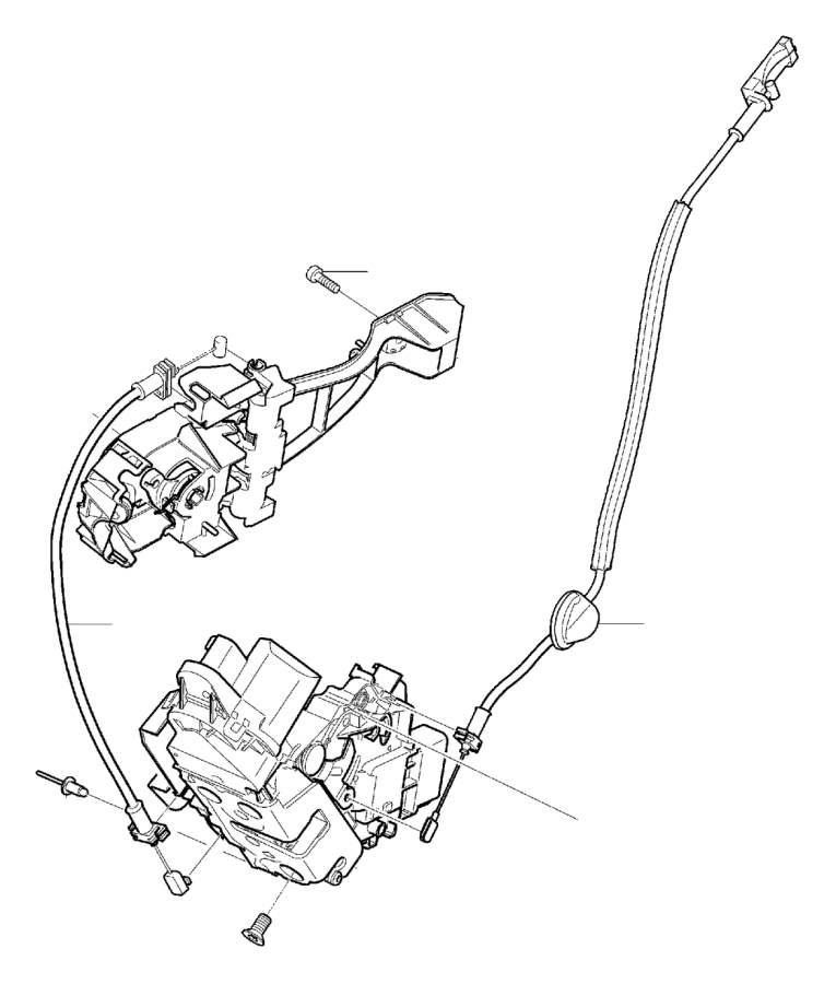 2013 Volvo Door Lock without deadLock Position. Lock and