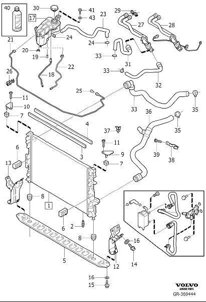 1989 Volvo Engine Coolant Level Sensor. LEVEL GUARD