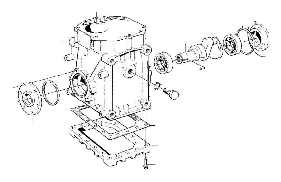 Volvo 240 Gasket Kit. B17, B19, B21, B23. B19, B20, B21