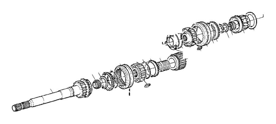 Volvo 940 Engaging Sleeve. Transmission, Gearbox, Manual